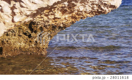Clear Water in the Red Sea and Rock 28011618