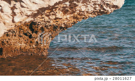Clear Water in the Red Sea and Rock 28011627