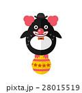 Penguin clown vector animal character illustration 28015519