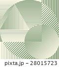 Green color minimalistic design with geometric 28015723
