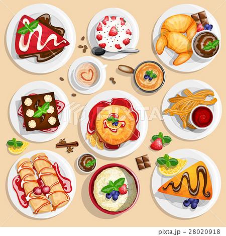 Dessert top view 28020918