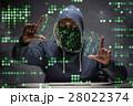 ハッカー コンピュータ コンピューターの写真 28022374
