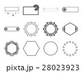 Vector icon set for various label 28023923