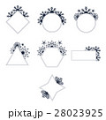 Vector set of mirrors of different shapes 28023925
