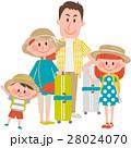 家族 人物 旅行のイラスト 28024070