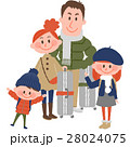 家族 人物 旅行のイラスト 28024075