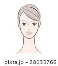 女性 瞳を開けた女性 28033766