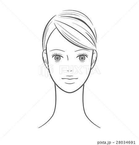 女性_瞳を開けた女性 28034691
