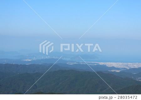 高縄山山頂から見た景色(今治方面) 28035472