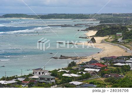 離岸流が発生しそうな海岸、奄美大島大字用、鹿児島県 28036706