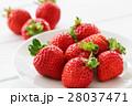 果物 苺 果実の写真 28037471
