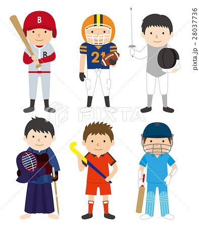 スポーツセット_男性03 28037736