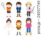 スポーツセット_女性03 28037740