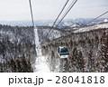秋田県北秋田市 スキー場ゴンドラ 28041818