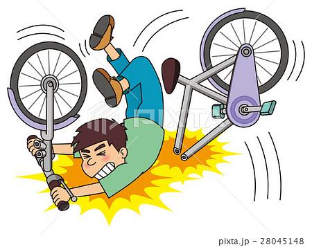 欠陥自転車のイラスト素材 28045148 Pixta