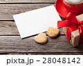 カード 葉書 名刺の写真 28048142