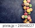 マカロン 洋菓子 ペストリーの写真 28048227