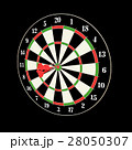 Darts and arrows 3d illustration 28050307