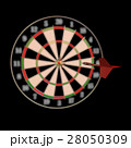 Darts and arrows 3d illustration 28050309
