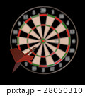 Darts and arrows 3d illustration 28050310