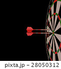 Darts and arrows 3d illustration 28050312