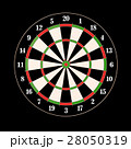 Darts and arrows 3d illustration 28050319
