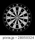 Darts and arrows 3d illustration 28050324