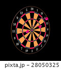 Darts and arrows 3d illustration 28050325