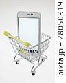 スマホ ショッピングカート スマートフォンの写真 28050919