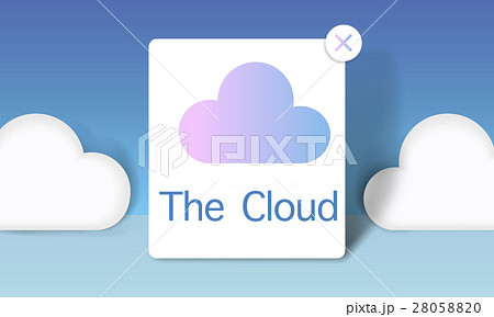 Cloud Computing Storage Icon Conceptのイラスト素材 [28058820] - PIXTA