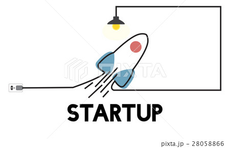vision startup plan new business entrepreneur conceptのイラスト素材
