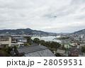 南山手からの長崎港と稲佐山 28059531