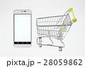 スマホ ショッピングカート スマートフォンの写真 28059862