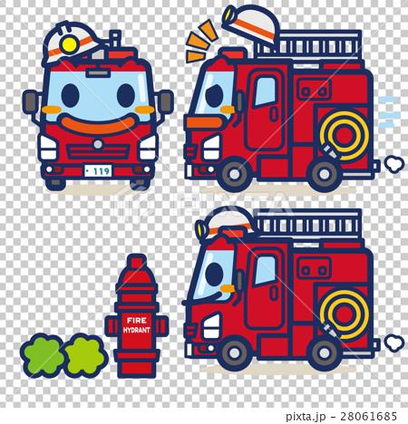 はたらく消防車くん 28061685