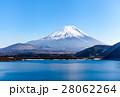 富士山、本栖湖、雲なし 28062264
