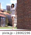 ビジネスウェアの女性 ビジネスウーマン perming3DCGイラスト素材 28062296