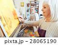 画家 絵描き 年寄りの写真 28065190