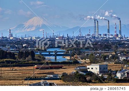 千葉県 小湊鉄道 山倉ダムの俯瞰ポイント 28065745