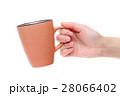 コーヒーカップ 手 持つの写真 28066402