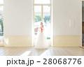 ウエディングイメージ、ベール、ウェディングドレス 28068776