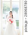 ウエディングイメージ、ベール、ウェディングドレス 28068780