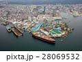 空撮 神戸市 造船所の写真 28069532