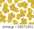 しょうが 生姜 柄 パターン 水彩画 28071261
