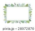 植物フレーム02 28072870