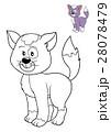 Coloring book, Cat 28078479