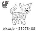 Coloring book, Cat 28078488