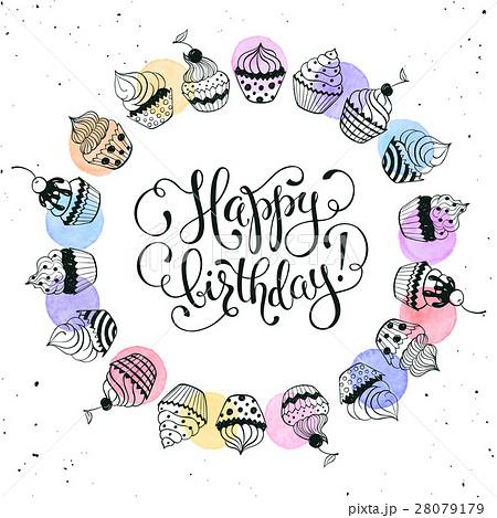Happy Birthday Cardのイラスト素材