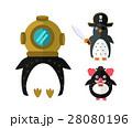 Penguin vector animal character illustration. 28080196