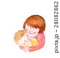 赤ちゃんとお母さん イラスト 28082862
