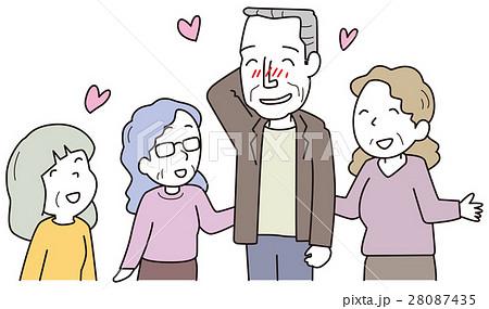 女性にモテる高齢者男性 28087435